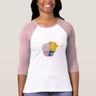 Colourful Brain T-Shirt