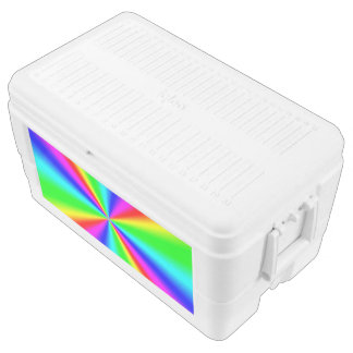 Colourful Bright Rainbow Chest Cooler