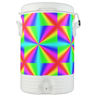 Colourful Bright Rainbow Cooler