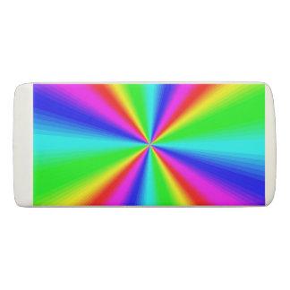 Colourful Bright Rainbow Eraser