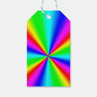 Colourful Bright Rainbow Gift Tags