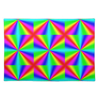 Colourful Bright Rainbow Placemat