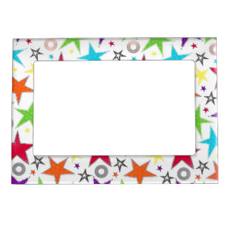 Colourful bright stars Magnetic Frame