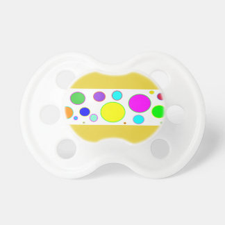 Colourful Bubbles Baby Pacifier