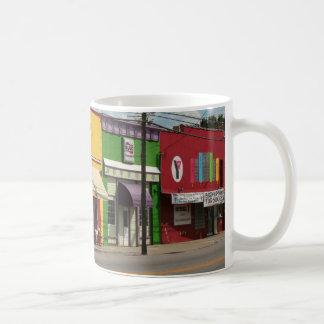 Colourful Buildings Mug