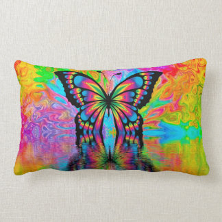 Colourful Butterfly Pillow