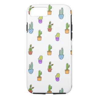 Colourful Cacti iPhone 7 Case