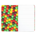 Colourful candies journal
