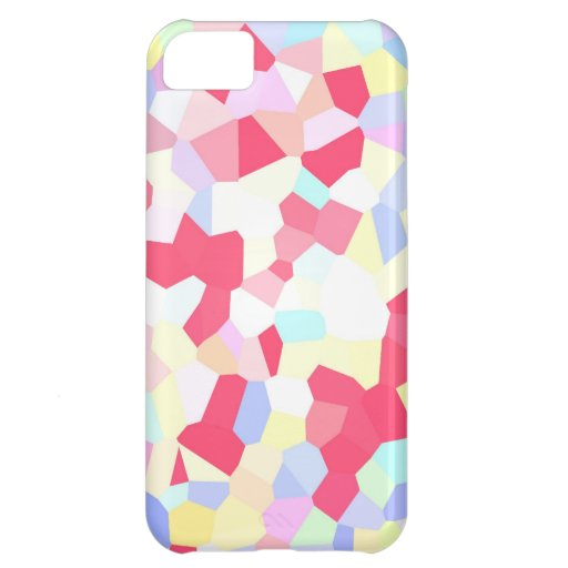 COLOURFUL CANDY ROCKS DIGITAL WALLPAPER BACKGROUND iPhone 5C CASES