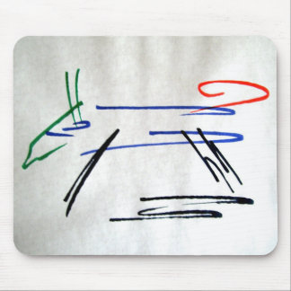 Colourful Canine. Mouse Pad