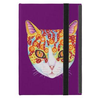 Colourful Cat iPad Mini Case with Kickstand