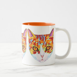 Colourful Cat Mug