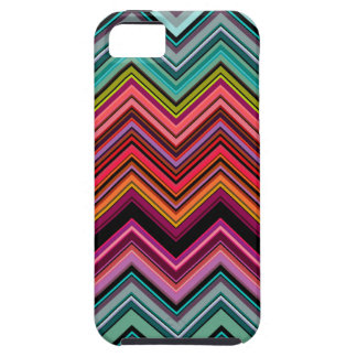 Colourful chevron design iPhone 5 case
