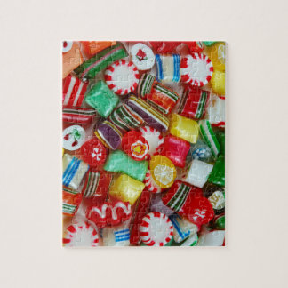 Colourful Christmas Candy Jigsaw Puzzle