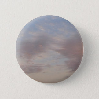 Colourful clouds 6 cm round badge
