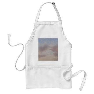 Colourful clouds standard apron