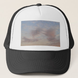 Colourful clouds trucker hat