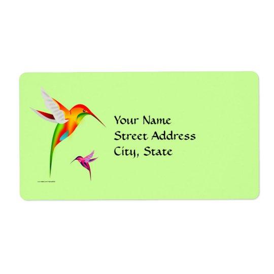 Colourful Colibri Birds