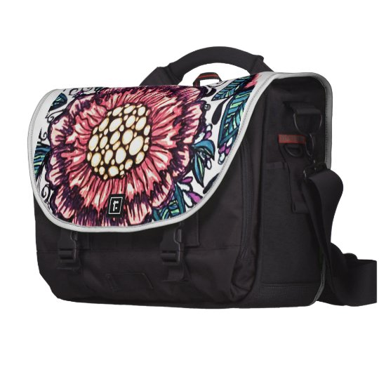 Colourful commuter bag