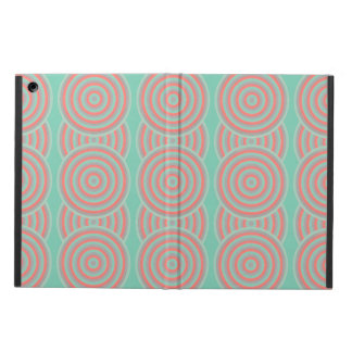 Colourful Concentric Circles Cover iPad Air Case