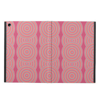 Colourful Concentric Circles Cover iPad Air Cover