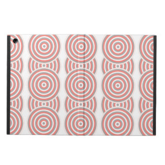 Colourful Concentric Circles Cover iPad Air Covers