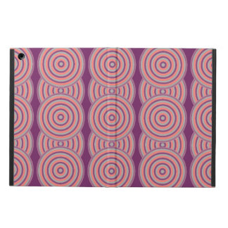 Colourful Concentric Circles Cover Cover For iPad Air