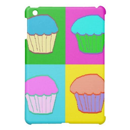 Colourful Cupcake Popart Case iPad Mini Cases