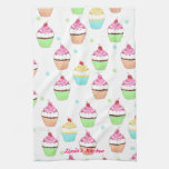 Colourful Cupcake Tea Towel