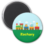 Colourful Cute Animals Train for Kids Refrigerator Magnet