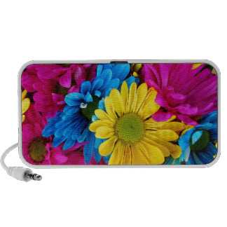 Colourful Daisies Travel Speakers