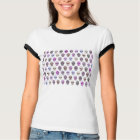 Colourful Day of the Dead Sugar Skull Pattern T-Shirt