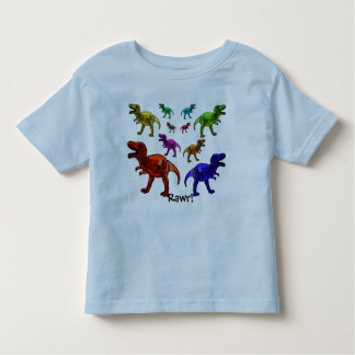 Colourful Dinosaur Rawr! T-Shirt