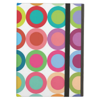 Colourful Dots iPad Air Case