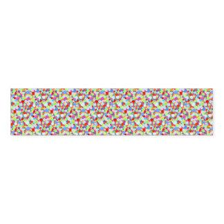 Colourful dots napkin band