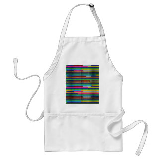 Colourful dots standard apron