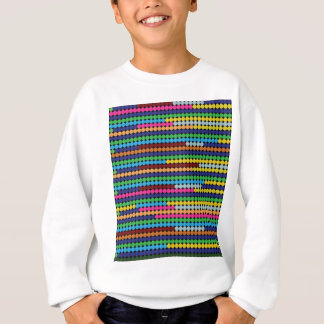 Colourful dots sweatshirt