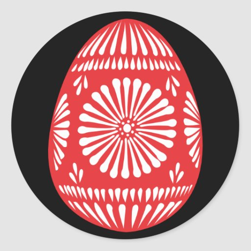 Colourful Easter Eggs Sticker 2