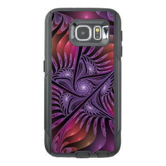 Colourful Fantasy Abstract Modern Purple Fractal