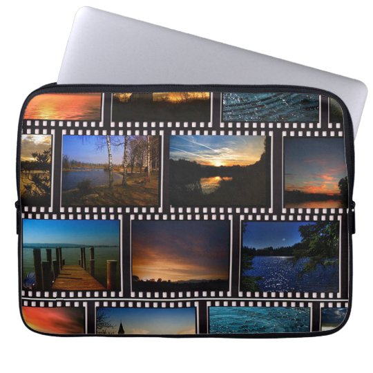 Colourful Film Strips Laptop Sleeve
