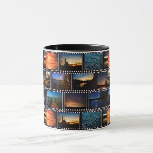 Colourful Film Strips Mug