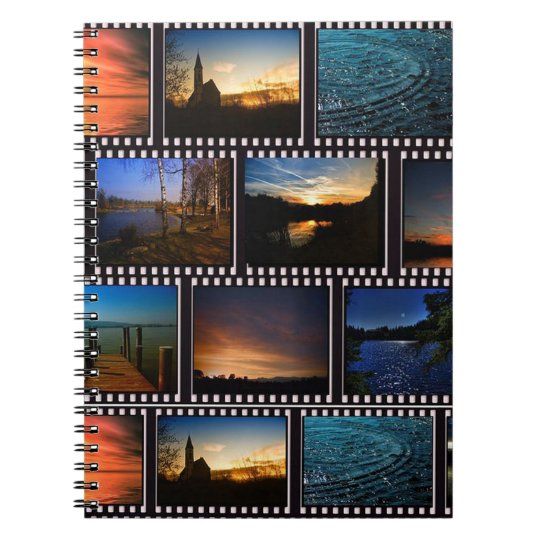 Colourful Film Strips Notebooks