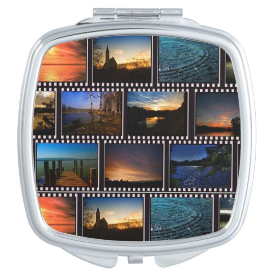 Colourful Film Strips Travel Mirrors