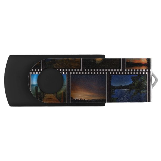 Colourful Film Strips USB Flash Drive