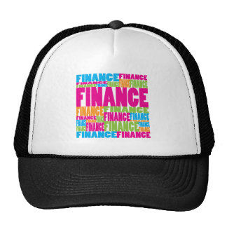 Colourful Finance Hat