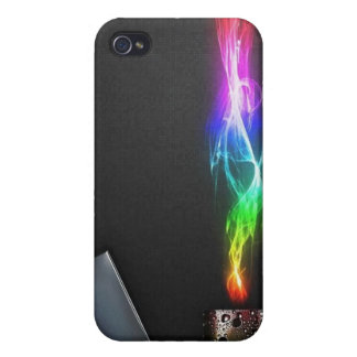 colourful fire iphone 4 case