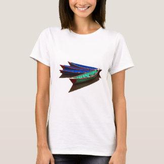 Colourful Fishing Boats T-Shirt