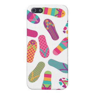 Colourful Flip Flops iPhone4 Case Covers For iPhone 5