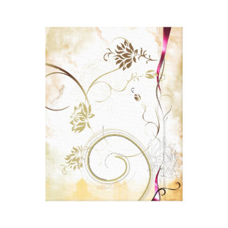 colourful flower canvas