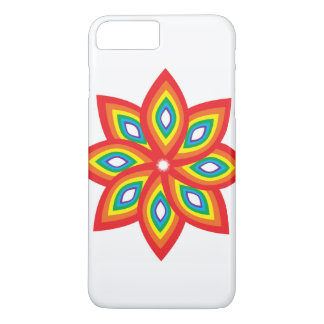 Colourful Flower iPhone 8 Plus/7 Plus Case